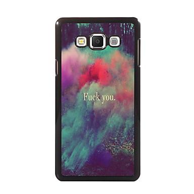 Voor Samsung Galaxy hoesje Hoesje cover Kaarthouder met standaard Flip Patroon Magnetisch Achterkantje hoesje Woord / tekst PC voor