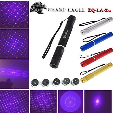 Φανός σχήματος laser Pointer 405nm Aluminum Alloy