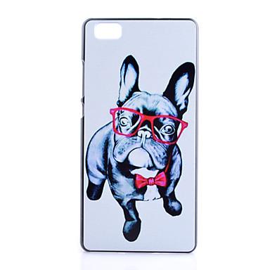 Για Θήκη Huawei P8 Lite Θήκες Καλύμματα Κάλυμμα πίσω μέρους Με σχέδια Πίσω Κάλυμμα tok Σκύλος Γραφική Ειδικό Σχέδιο Διάφανη Άλλα