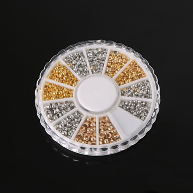 beadia resultados da jóia assorted tamanho 2,0 milímetros 2,5 milímetros 3 milímetros cravar grânulos finais Missangas bronze pérolas