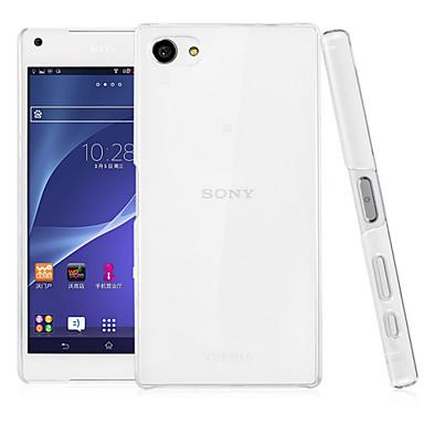 Capinha Para Sony Z5 Sony Xperia Z5 Compact Sony Xperia Z5 Capinha Sony Transparente Capa traseira Côr Sólida Rígida PC para Sony Xperia