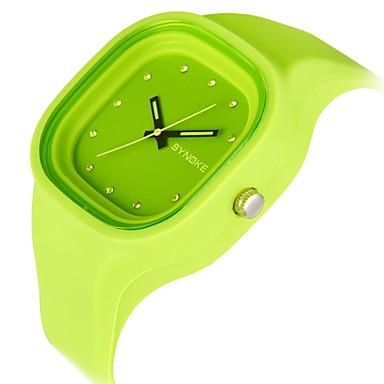 Heren Sporthorloge Digitaal horloge LED Chronograaf Waterbestendig Sporthorloge Kwarts Digitaal Japanse quartz PU Band
