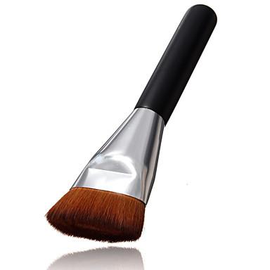 1 Concealerkwast / Poederkwast / Foundationkwast / Contour Brush Synthetisch haarProfessioneel / Reizen / Beugel / synthetisch /