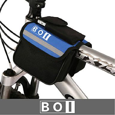 BOI® Fietstas 1.9LFietsstuurtas Waterdicht / Waterdichte Rits / Schokbestendig / Draagbaar Fietstas 600D Ripstop / Doek FietstasAndere