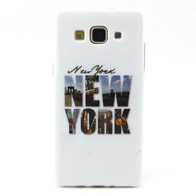 Voor Samsung Galaxy hoesje Hoesje cover Patroon Achterkantje hoesje Woord / tekst TPU voor Samsung Galaxy A5 A3