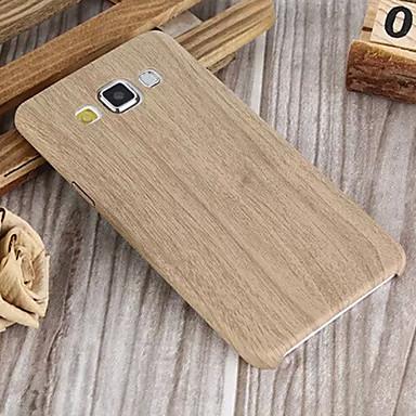 Capinha Para Samsung Galaxy Samsung Galaxy Capinhas Estampada Capa traseira Madeira PU Leather para A7 A5 A3