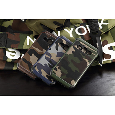 tok Για Samsung Galaxy Samsung Galaxy Θήκη Ανθεκτική σε πτώσεις Πίσω Κάλυμμα Καμουφλάζ PC για J1 Grand Prime E7 E5 Core Prime
