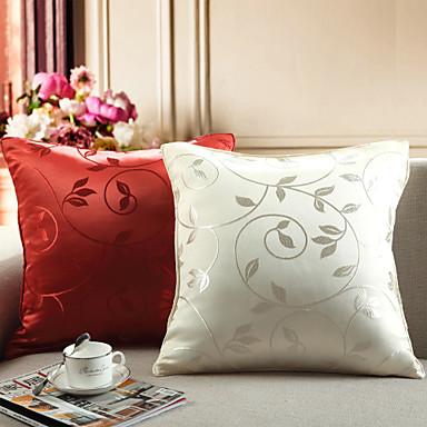 Polyester Kussen Met Vulling , Bloemen Modern/Hedendaags / Traditioneel / Landelijk / Informele / Traditioneel /Klassiek / Decoratief