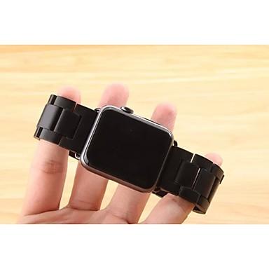 Faixa de relógio para relógio de maçã 38mm pulseira de borboleta 42mm pulseira de aço inoxidável com conector