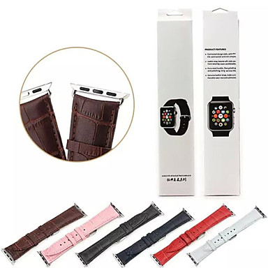 Παρακολουθήστε Band για Apple Watch Series 3 / 2 / 1 Apple Κλασικό Κούμπωμα Γνήσιο δέρμα Λουράκι Καρπού