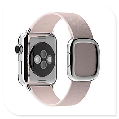 Pulseiras de Relógio para Apple Watch Series 3 / 2 / 1 Apple Fecho Moderno Couro Legitimo Tira de Pulso