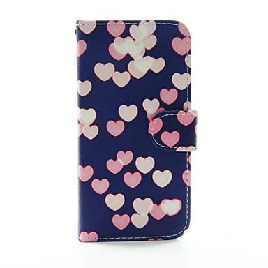 케이스 제품 Apple 아이폰5케이스 iPhone 6 iPhone 6 Plus 카드 홀더 지갑 스탠드 전체 바디 케이스 심장 하드 PU 가죽 용 iPhone 6s Plus iPhone 6s iPhone 6 Plus iPhone 6 iPhone