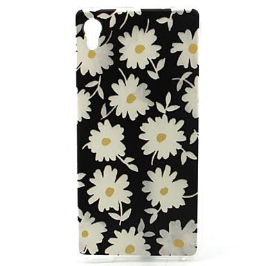 Για Θήκη Sony Θήκες Καλύμματα Με σχέδια Πίσω Κάλυμμα tok Λουλούδι Μαλακή TPU για Sony Sony Xperia M4 Aqua