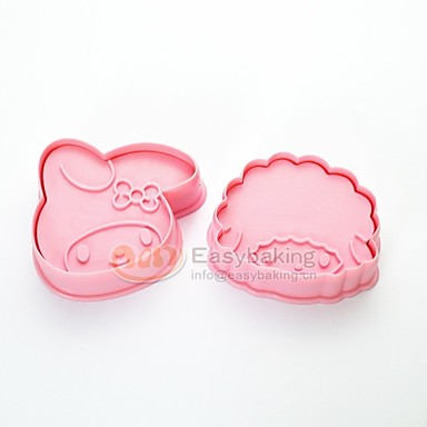 leuke cartoon dier 3d biscuit schimmel Roodkapje cookie cutters en stempels mc-66