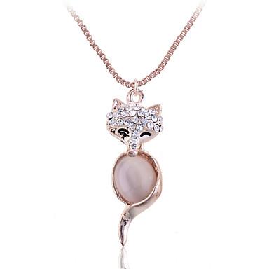 Dames Vorm Hangertjes ketting Kristal Opaal Legering Hangertjes ketting Feest Dagelijks Causaal