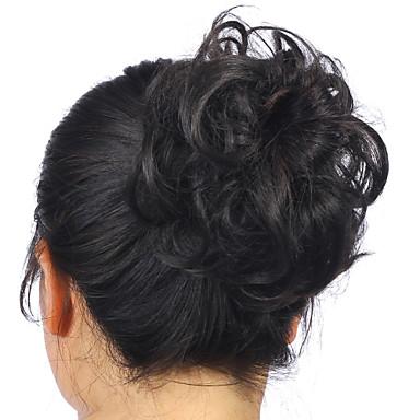 4BH27 M6PH613 30/4 loiro 22-613 Clássico Encaracolado Bolo de cabelo Alta qualidade Cabelo Sintético Pedaço de cabelo Alongamento