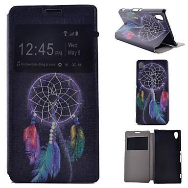 ζωγραφισμένα pu τηλέφωνο υπόθεση για Sony Xperia m4