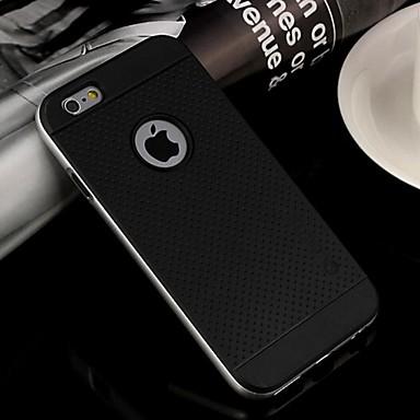 tok Για Apple iPhone 6 iPhone 6 Plus Ανθεκτική σε πτώσεις Πίσω Κάλυμμα Συμπαγές Χρώμα Μαλακή TPU για iPhone 6s Plus iPhone 6s iPhone 6