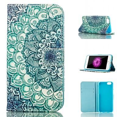 Για Θήκη iPhone 6 Πορτοφόλι / Θήκη καρτών / με βάση στήριξης / Ανοιγόμενη / Με σχέδια tok Πλήρης κάλυψη tok Μάνταλα Μαλακή Συνθετικό δέρμα