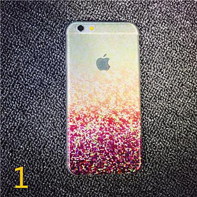 για το iphone 7 maycari® την τρελή ψηφιδωτά διαφανή TPU πίσω περίπτωση για το iPhone 6s 6 συν