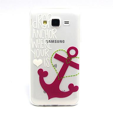Voor Samsung Galaxy hoesje Hoesje cover Transparant Achterkantje hoesje Anker TPU voor Samsung Galaxy J5