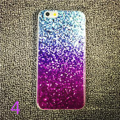 tok Για iPhone 6 iPhone 6 Plus Με σχέδια Πίσω Κάλυμμα Λάμψη γκλίτερ Μαλακή TPU για iPhone 6s Plus iPhone 6 Plus iPhone 6s iPhone 6