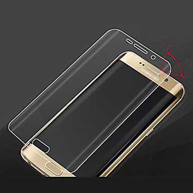 Screenprotector Samsung Galaxy voor S6 edge Gehard Glas Voorkant screenprotector High-Definition (HD)