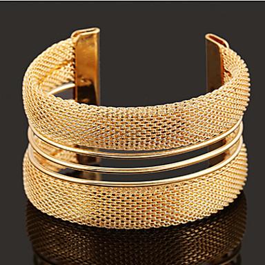Dames Cuff armbanden Klassiek Open Verstelbaar Legering Sieraden Dagelijks Causaal Kostuum juwelen
