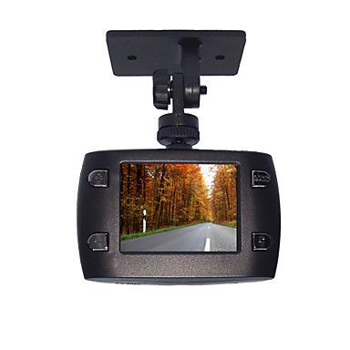 720P HD Smart Anti-Shock Multi-Function Car DVR with Motion Detect And Built-in 150mAh Chargeable Li-Battery