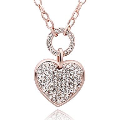 Γυναικεία Καρδιά Εξατομικευόμενο Geometric Μοναδικό Κρεμαστό Βίντατζ Μποέμ Βασικό Love Καρδιά Φιλία Προσαρμόσιμη Λατρευτός Χιπ-Χοπ