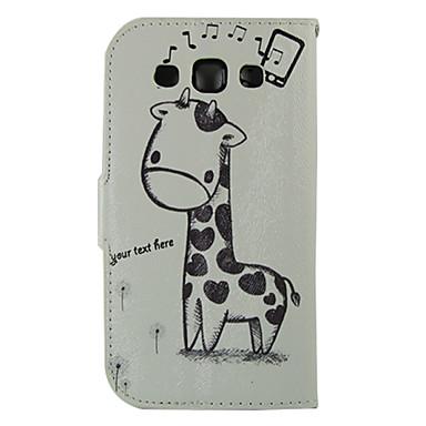 tok Για Samsung Galaxy Samsung Galaxy Θήκη Θήκη καρτών Πορτοφόλι με βάση στήριξης Ανοιγόμενη Πλήρης Θήκη Ζώο PU δέρμα για S Advance Win