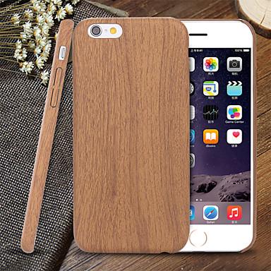 Voor iPhone 5 hoesje Ultradun / Patroon hoesje Achterkantje hoesje Houtnerf Zacht TPU iPhone SE/5s/5