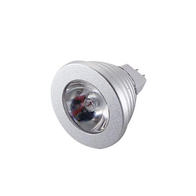 YouOKLight 260 lm GU5.3(MR16) LED Σποτάκια MR16 1 leds LED Υψηλης Ισχύος Διακοσμητικό Τηλεχειριζόμενο RGB DC 12V
