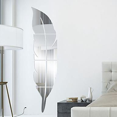Formas 3D Adesivos de Parede Autocolantes de Parede Espelho Autocolantes de Parede Decorativos, Vinil Decoração para casa Decalque Parede