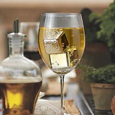 pedra de gelo de aço inoxidável de qualidade alimentar sus304 para o vinho bar 1 peça