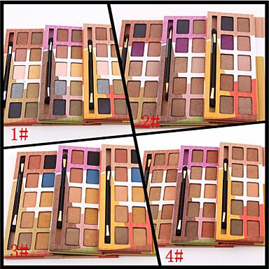 10pcs Olhos Normal Sombra para Olhos Pó Maquiagem para o Dia A Dia / Maquiagem Esfumada / Brilho