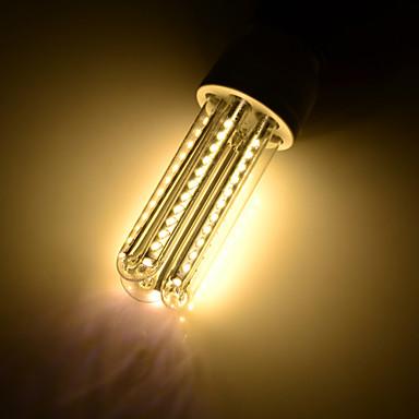E26/E27 LED 콘 조명 T 66 LED가 SMD 3014 장식 따뜻한 화이트 650lm 3000K AC 85-265 AC 220-240 AC 100-240 AC 110-130V