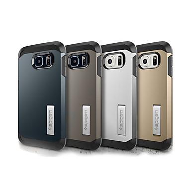 Para Samsung Galaxy Capinhas Antichoque / Com Suporte Capinha Capa Traseira Capinha Armadura PC Samsung S6 edge plus / S6 edge / S6