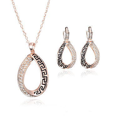 Dames Legering Modieus Bruiloft Feest Verjaardag Verloving Lahja Dagelijks Causaal Oorbellen Kettingen Kostuum juwelen