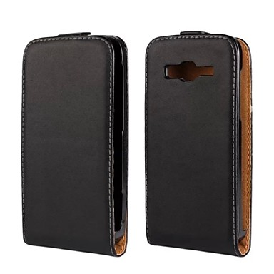 Недорогие Чехлы и кейсы для Galaxy S3-Кейс для Назначение SSamsung Galaxy S3 Флип Чехол Однотонный Кожа PU