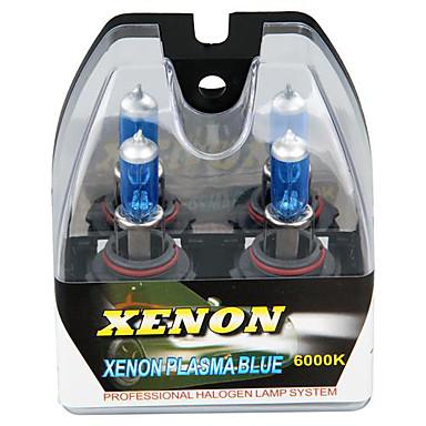 2 9006 HB4 6000k branco halógenas alta feixe baixo farol xenon lâmpadas lâmpada