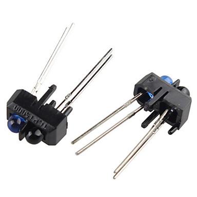 tcrt5000 reflexivo sensor óptico infravermelho infravermelho interruptor ir para arduino (2 peças)