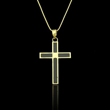 Pingentes Metal Cross Shape como Imagem 1