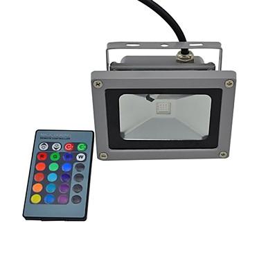 Focos de LED 1 LED Integrado 440lm lm RGB RGB K Impermeável Controle Remoto AC 85-265 V