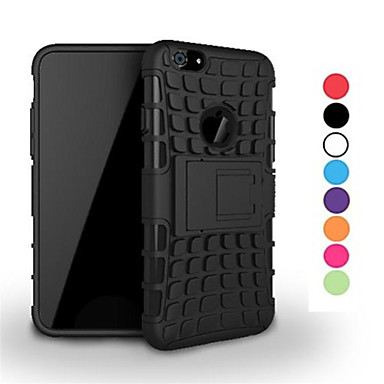 Capinha Para Apple iPhone 6 Capa de Corpo Inteiro Sólido Rígida PU Leather para Apple