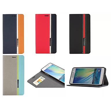 Para Samsung Galaxy Capinhas Porta-Cartão / Com Suporte / Flip / Estampada / Magnética Capinha Corpo Inteiro Capinha Estampa Geométrica