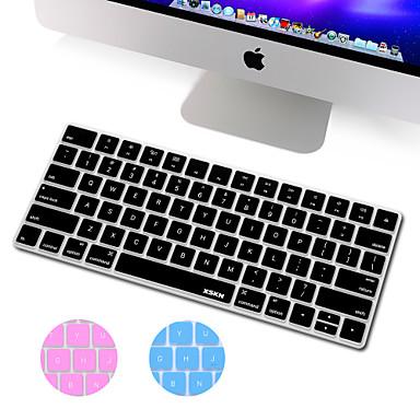 XSKN ultra fino pele tampa do teclado de silicone para a magia versão do teclado 2015, nós disposição