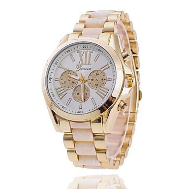זול שעוני גברים-בגדי ריקוד גברים שעון יד שעון תעופה קווארץ לבן / כחול / ורוד אנלוגי בז' כחול ורוד שנתיים חיי סוללה