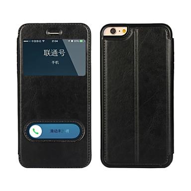hoesje Voor iPhone 6s Plus iPhone 6 Plus Apple iPhone 6 Plus Volledig hoesje Hard PU-nahka voor iPhone 6s Plus iPhone 6 Plus