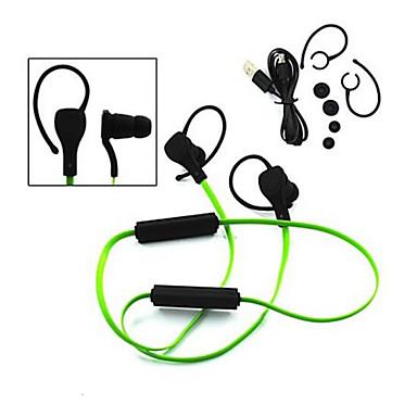 sport stereo noise-cancelling met-microfoon in de gehoorgang draadloze bluetooth headset hoofdtelefoon voor iphone Samsung lg htc sony